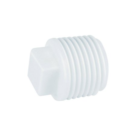 "Plug Roscável 3/4"" Pct/50 - PLASTUBOS"