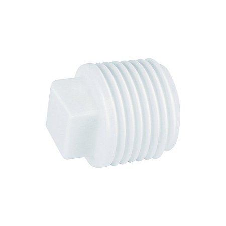 "Plug Roscável 1/2"" Pct/50 - PLASTUBOS"