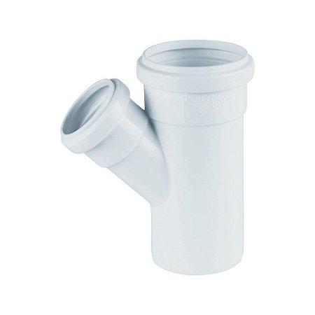 Junção Redução Esgoto 100mm X 50 mm Pct/10 - PLASTUBOS