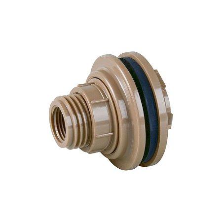 """Adaptador Soldável Para Caixa D'Água 40mm X 1.1/4"""" Pct/8 - PLASTUBOS"""