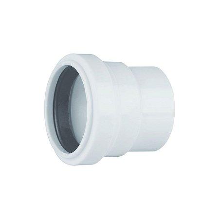 Adaptador Para Sifão Com Anel Labial DN 40 X 38 Pct/10 - PLASTUBOS