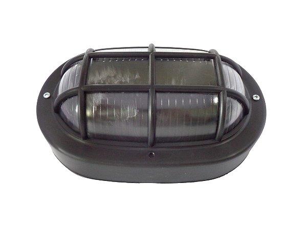 Luminária Tartaruga Preta 23W/25W 250V - ILUMI