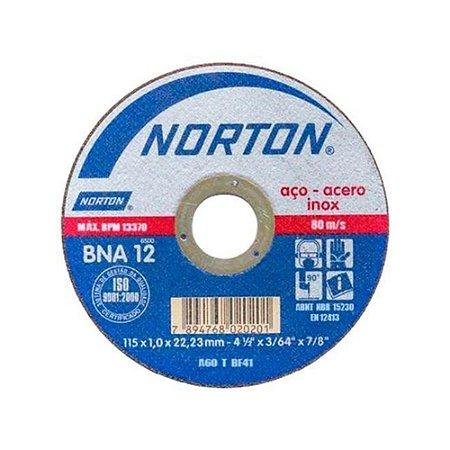 Disco De Corte Bna12 115X1.0X22.23 T41 - NORTON