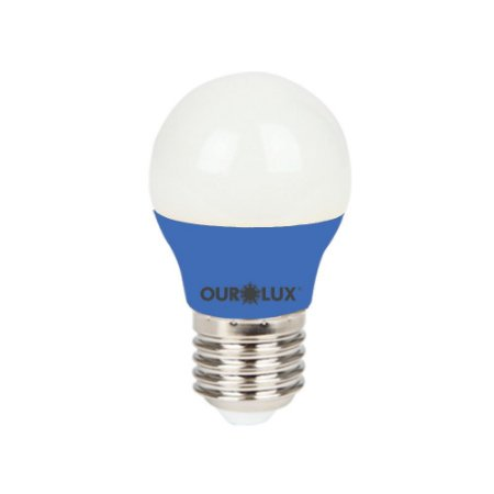 Superled S30 Colors 3W Bivolt Azul - OUROLUX