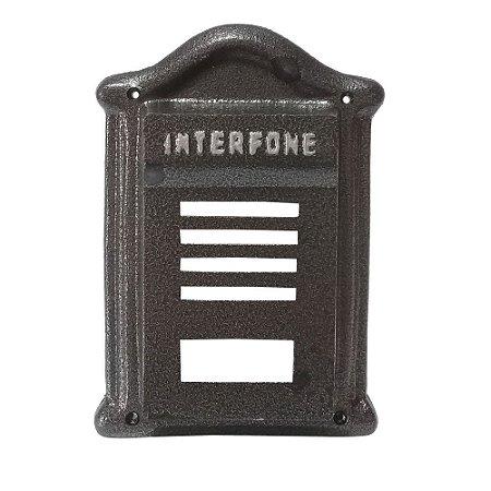 Protetor De Interfone Dama Preto - 2 IRMÃOS