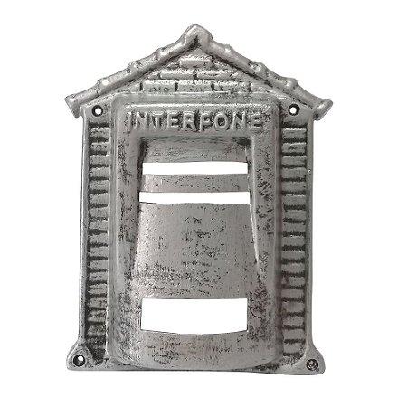 Protetor De Interfone Tijolinho Prata - 2 IRMÃOS