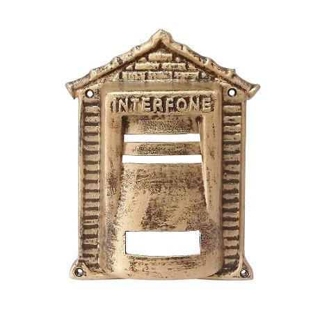 Protetor De Interfone Tijolinho Ouro - 2 IRMÃOS