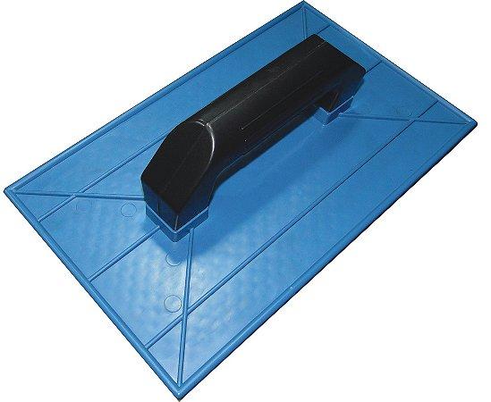 Desempenadeira Plástica Corrugada 15X26 Azul - EMAVE