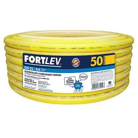 Conduite Corrugado 25mm - 50M - FORTLEV