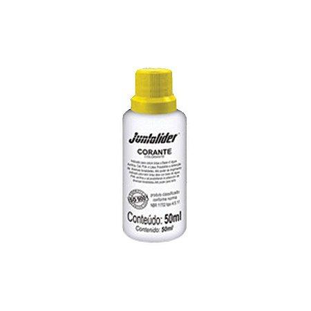 Corante Líquido Amarelo 50ml - JUNTALIDER