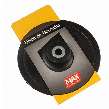 """Disco Borracha Flexível 7"""" - MAX FERRAMENTAS"""