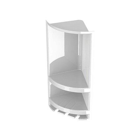 Porta Shampoo Branco - VALEPLAST