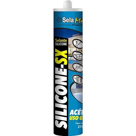 Silicone-S Acético Incolor 270g - SELAMAIS