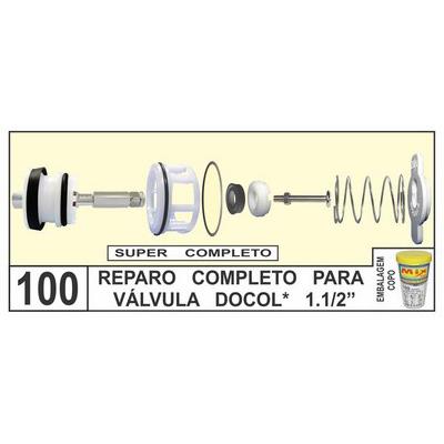 Reparo Completo Para Válvula Docol 1.1/2 - Mix Plastic