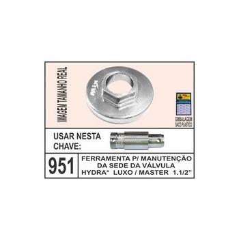 Ferramenta Para Manutenção Sede Válvula Hydra Luxo E Master 1.1/2 - Mix Plastic