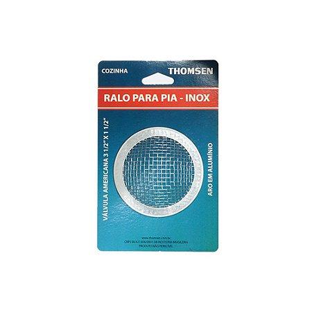 Ralo Cozinha Americano 3.1/2 Inox - Blister - Thomsen