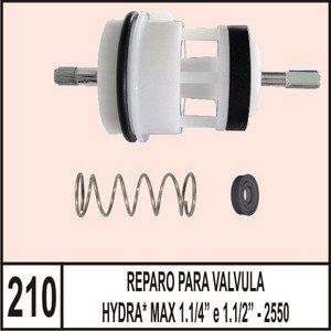Reparo Para Válvula Hydra Max 1.1/4 E 1.1/2 - 2550 - Mix Plastic