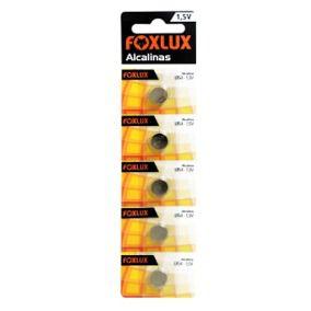 Bateria Alcalina 1,5V  LR41  Blister C/5  - FOXLUX