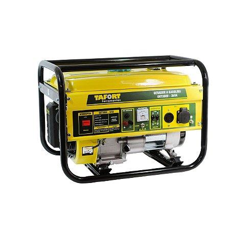 Gerador a Gasolina GGT3000 - 3 KVA - TAFORT
