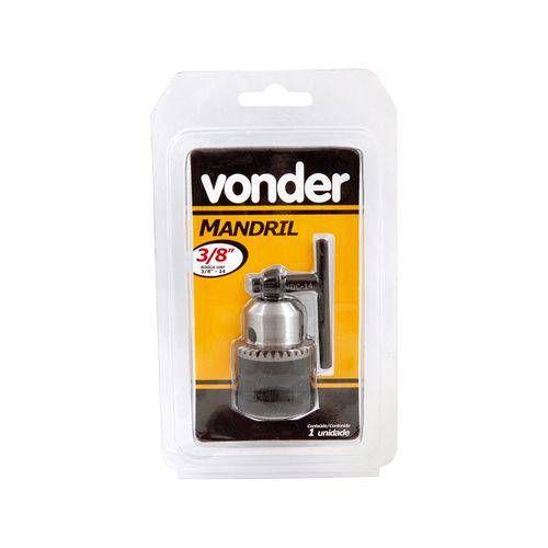 "Mandril Leve 10mm - 3/8"" Rosca 3/8"" - VONDER"