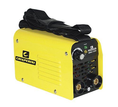 Máquina de Solda Inversora COMPACTA - MMA 120A - 220V - CHIAPERINI