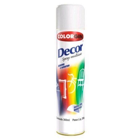 Tinta Spray Decor Branco Fosco - SHERWIN-WILLIAMS