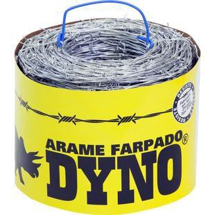 Arame Farpado - 400M Fio 1,60mm - DYNO