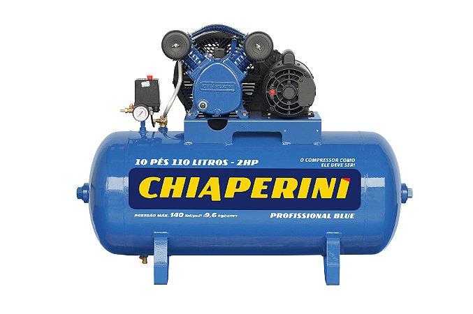 Compressor Ar 10 Pes Blue Rch 110L C/MM 2HP 110/220V - CHIAPERINI