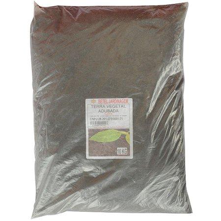 Terra Vegetal Adubada 10KG - BETEL JARDINAGEM