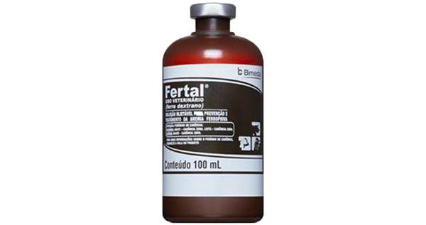 Fertal (Auxilia na Prevenção e Tratamento de Anemias em Bovinos e Suínos ) - BIMEDA