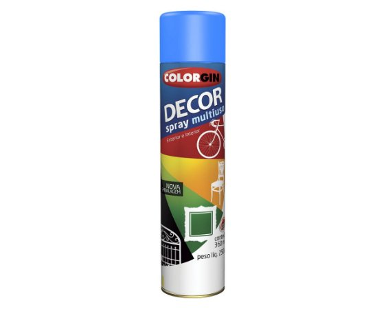 Tinta Spray Decor Azul Medio - SHERWIN-WILLIAMS