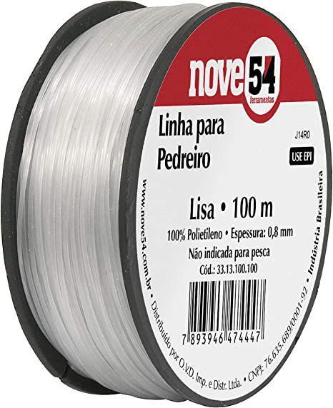 Linha P/ Pedreiro Lisa 100M - 954