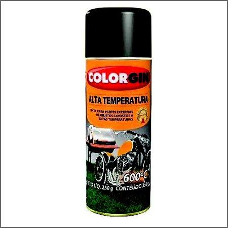 Tinta Spray Decor Alta Temperatura Preto  - SHERWIN-WILLIAMS