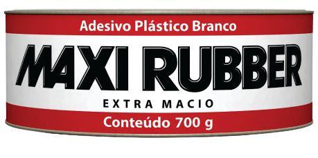 Adesivo Plastico Branco 700G - MAXI RUBBER