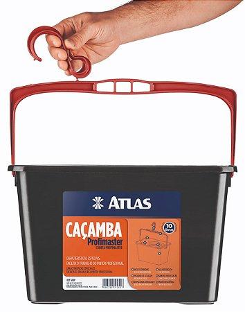 Caçamba Para Pintura Preta 10L (610P) - ATLAS
