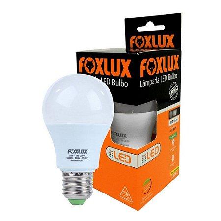 Lâmpada Led 9W 6500K - FOXLUX