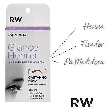 Henna Indiana Glance Rare Way Sobrancelhas Delineador