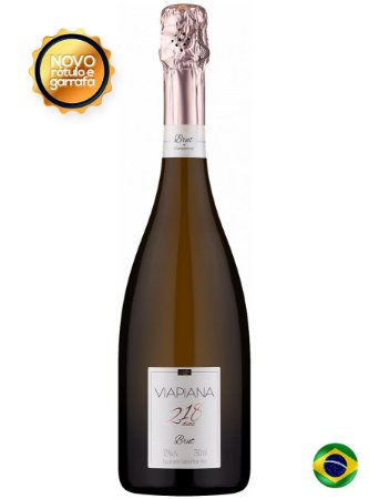 Viapiana Espumante Brut Rosé Champenoise 218 dias
