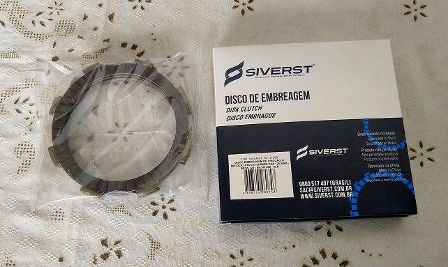 DISCO DE EMBREAGEM SIVERST