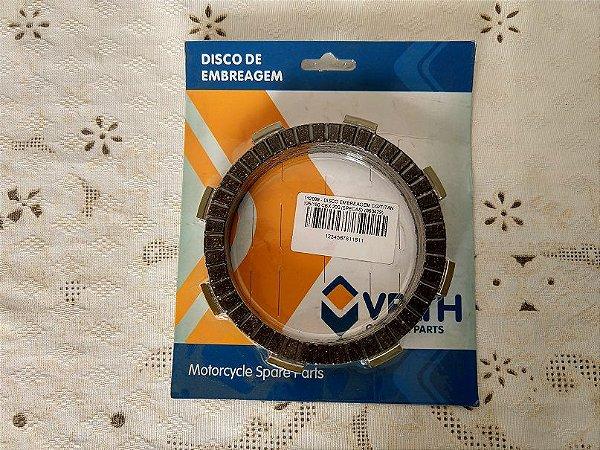 DISCO DE EMBREAGEM CG/TITAN 125/150 CBX 200