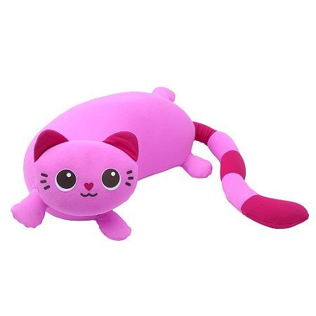 Pelúcia Gato Rosa Bisteca