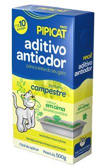Aditivo Antiodor Pipicat Campestre 500g