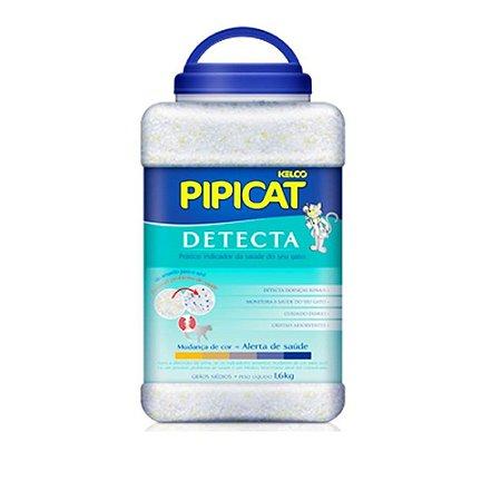Areia de Gato Silica Pipicat Detecta 1,6kg