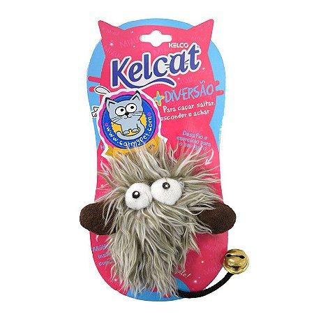 Brinquedo Para Gatos Kelcat Monstro Plush  com Catnip Kelcat