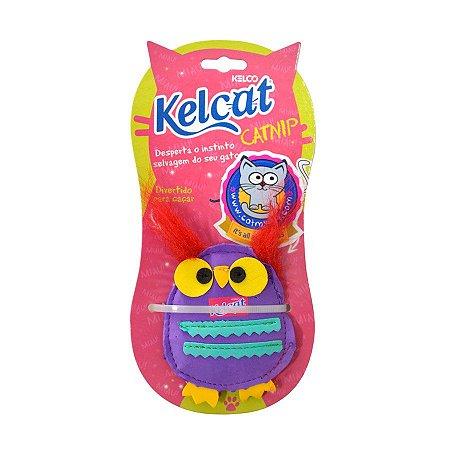 Brinquedo Para Gatos Kelcat Coruja com Catnip