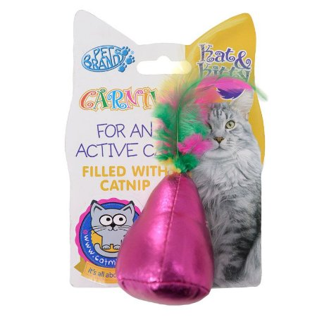 Brinquedo com Catnip Pacote e Pena Carnival para Gatos
