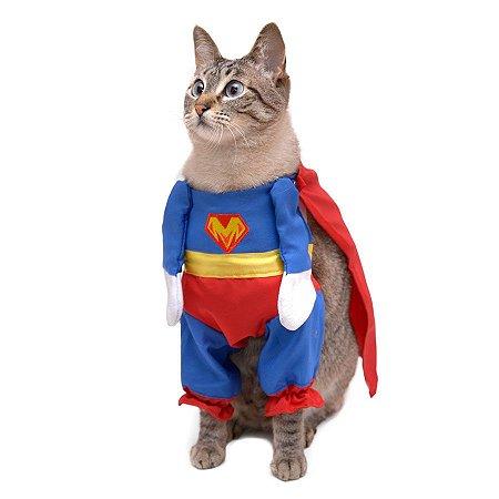 Roupinha Fantasia Super Herói Cat