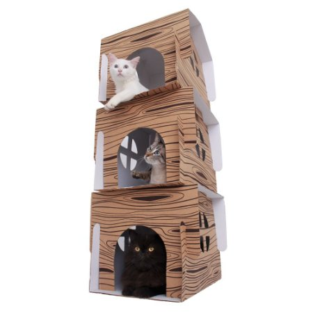 Chalezinho Triplex para Gatos