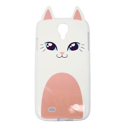 Capa Celular Samsung S4 Gatinha