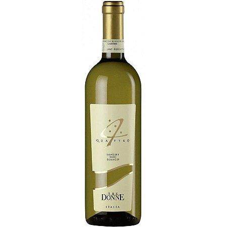 VINHO - Tre Donne Langhe Bianco Chardonnay Quattro DOC - 750 ml